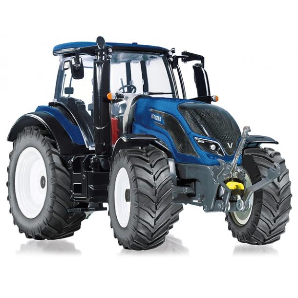 Valtra T214 blå traktor 1/32 Wiking