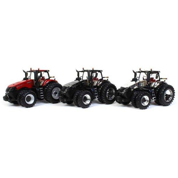 Case IH Magnum 2019 AFS CONNECT MAGNUM INTRODUCTION EDITION sæt med 3 traktor 1/32 Ertl