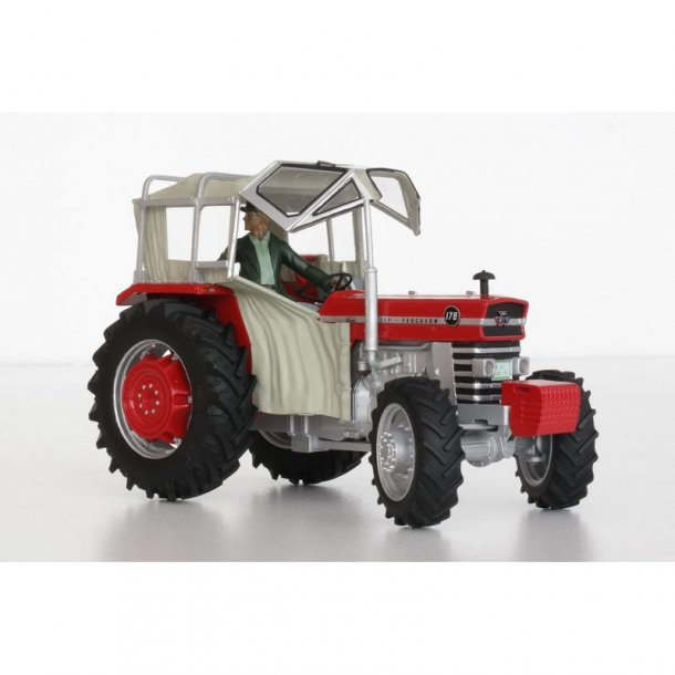 Massey Ferguson 178 4WD traktor 1/32 Mo-Miniatur