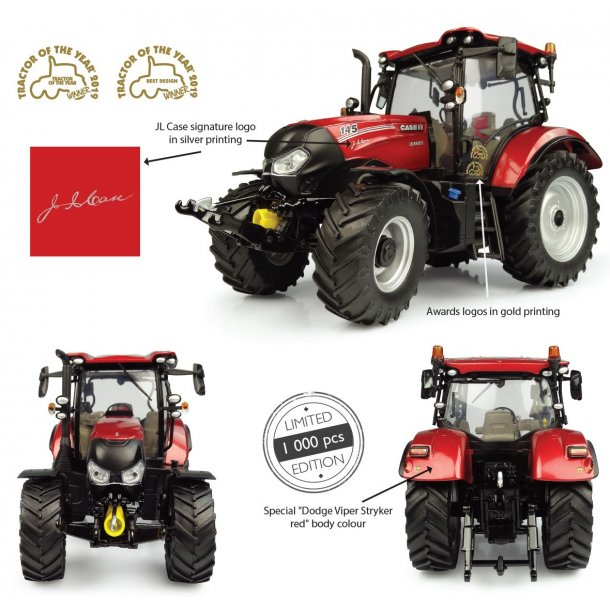 "Case IH Maxxum 145 Multicontroller ""Tractor of the Year 2019 "" Ltd ed. 1000 stk 1/32 UH"