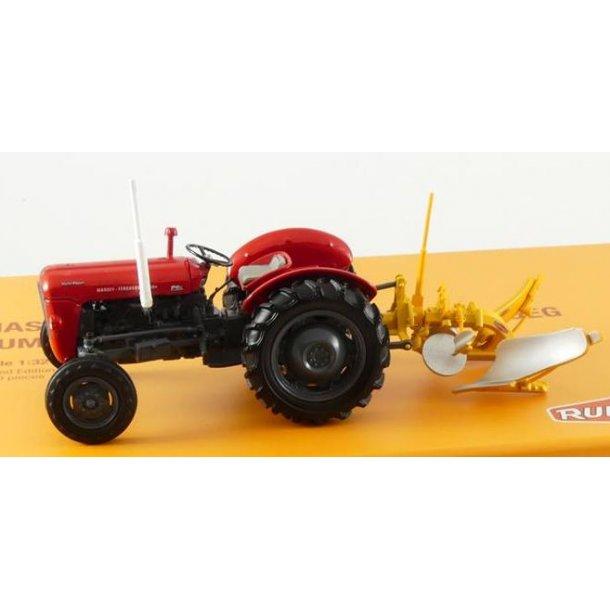 Massey Ferguson 35X med Rumpstad vendeplov Limited Edition 1000 sæt traktor 1/32 UH Universal Hobbie